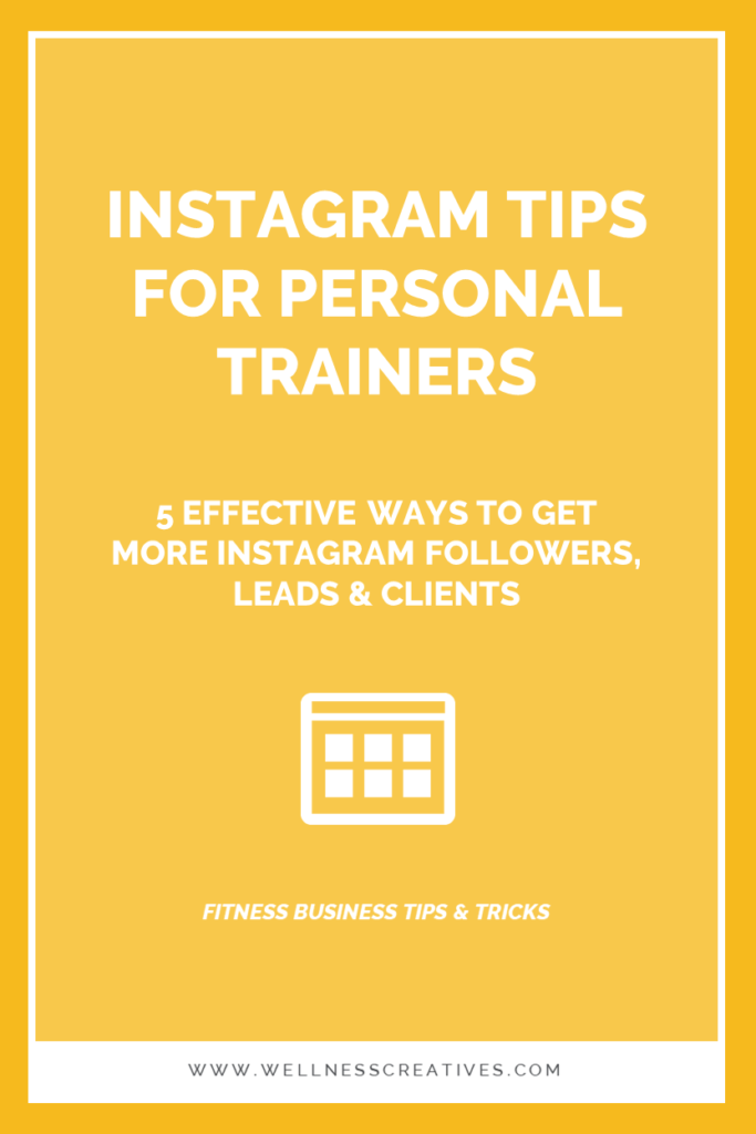 Instagram Tips For Personal Trainers & Fitness Coaches