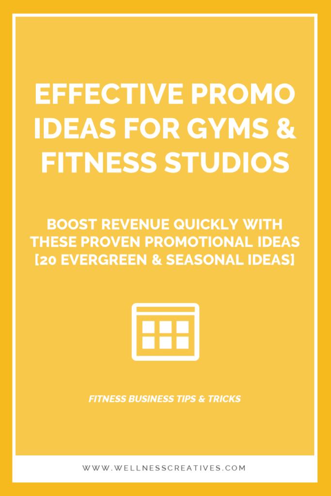 Gym Fitness Club Promo Ideas