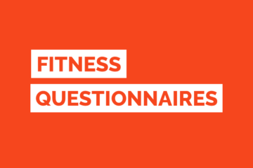 Health Fitness Questionnaire