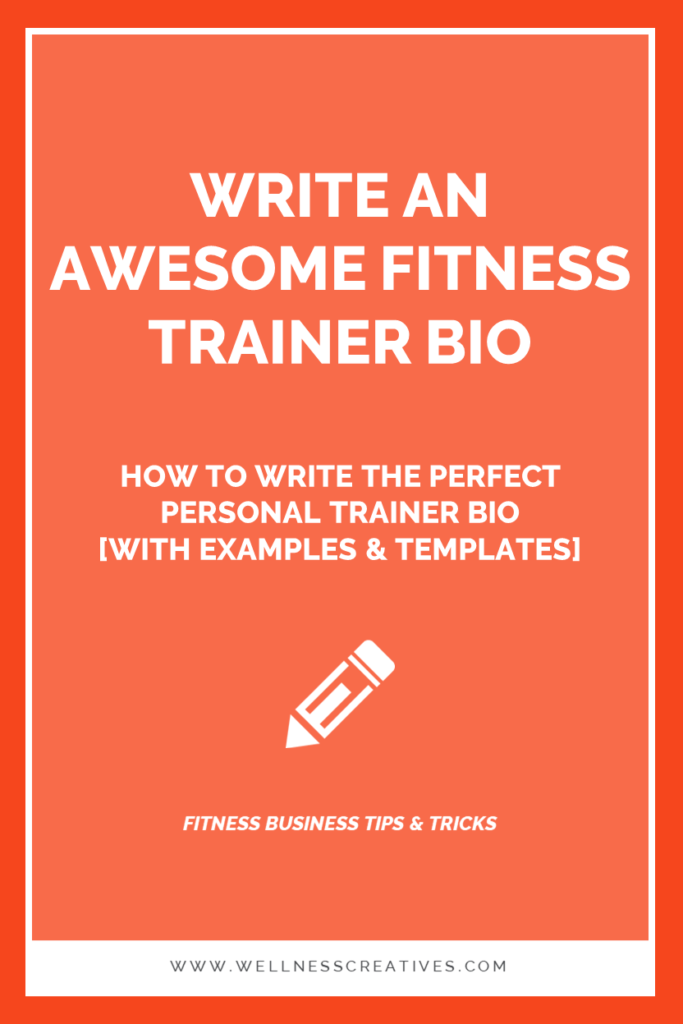 Perfect Personal Trainer Bio Examples