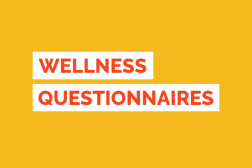 Wellness Assessment Questionnaire