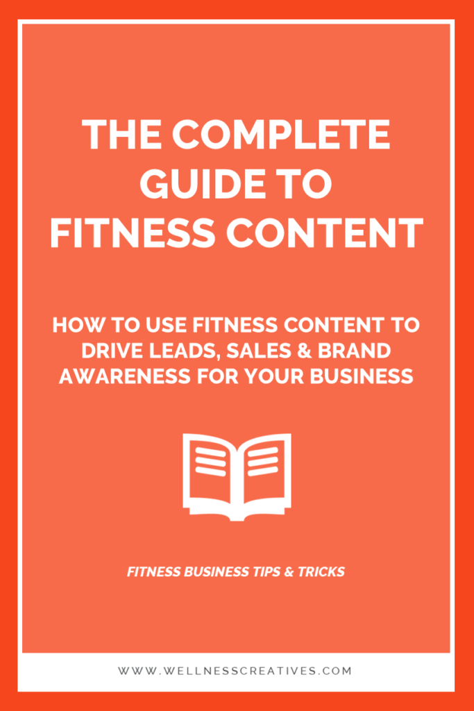 Content Marketing Fitness Gym Businesses