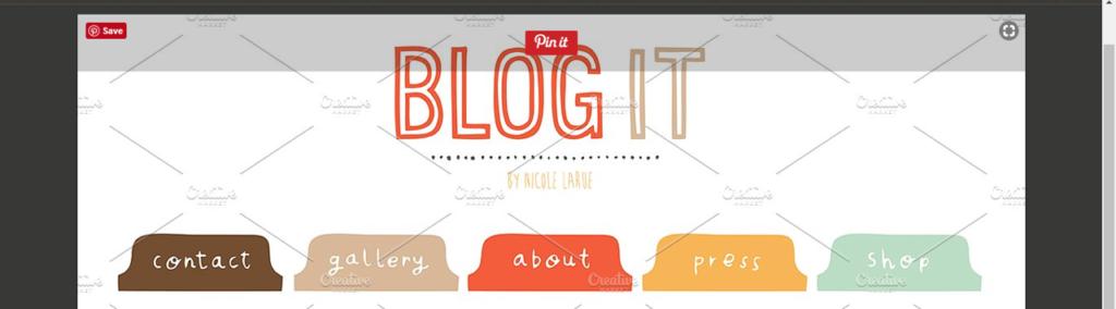Wellness Blog Branding