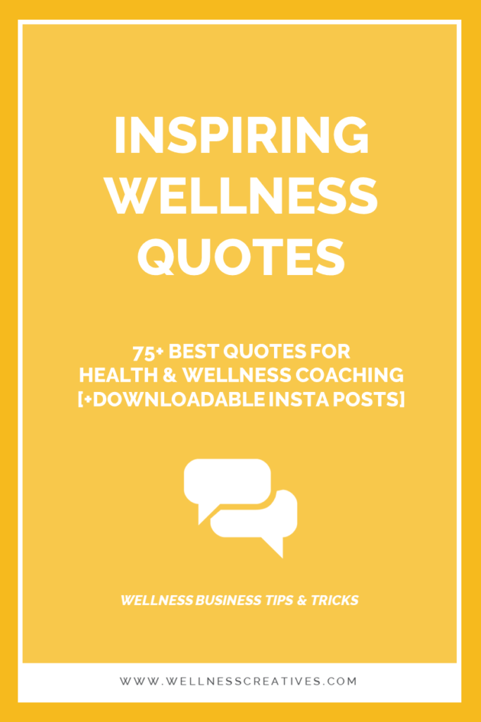 Wellbeing Quotes For Wellness Wednesday