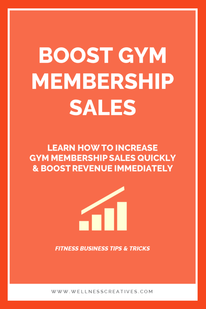 How To Increase Gym Sales Quickly