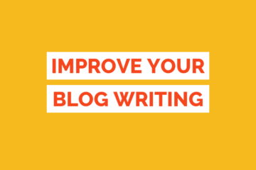 Improve Blog Writing Skills